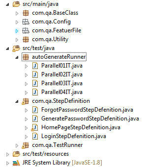 Auto Generate Runner File in Cucumber - QA Automation