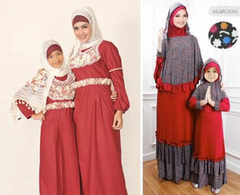 Model Baju Muslim Ibu Dan Anak Terbaru 2016