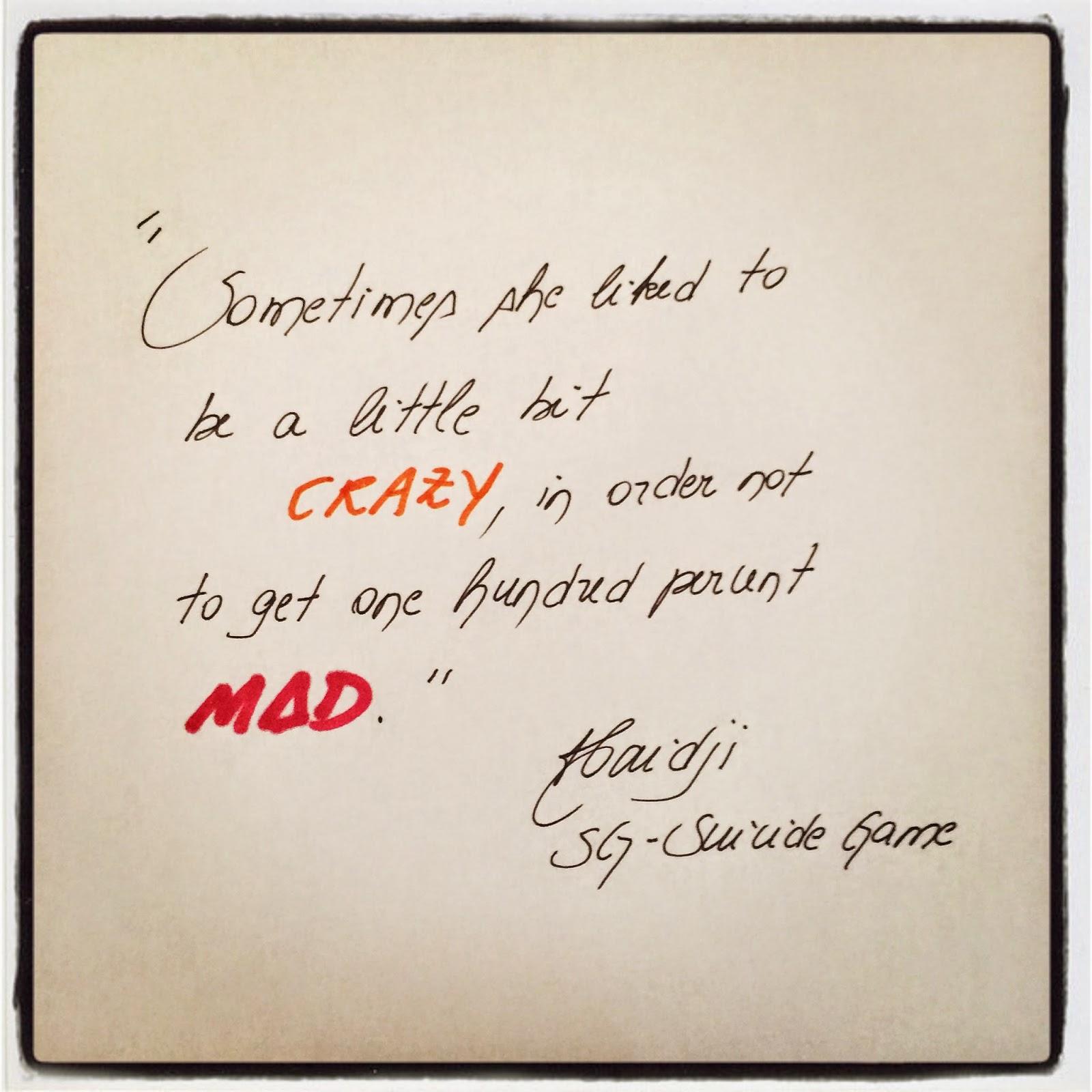 Best Suicide Quotes: Suicide Room Quotes. QuotesGram