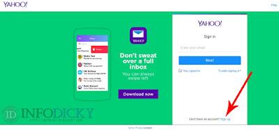 Cara Membuat Akun Email di Yahoo