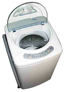 Portable Haier Washer Compact Laundry Machine