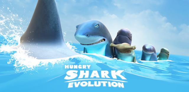 تحميل لعبة Hungry Shark Evolution  مهكرة للاندرويد, Hungry Shark Evolution v5.8.0 (MOD, coins/gems
