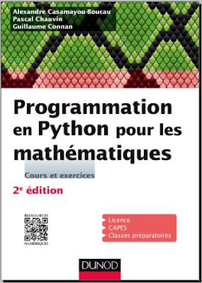 Télécharger Livre Gratuit Programmation en Python pour les mathématiques - Dunod pdf