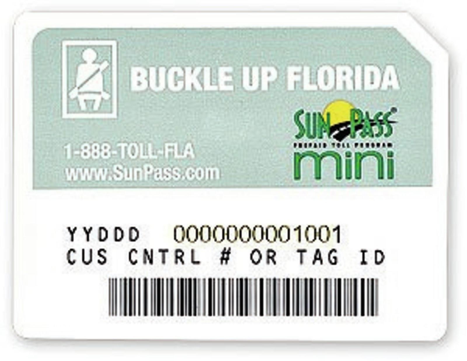 Vai dirigir em Miami/Orlando? Use o Sunpass mini ~ Viaja Bru