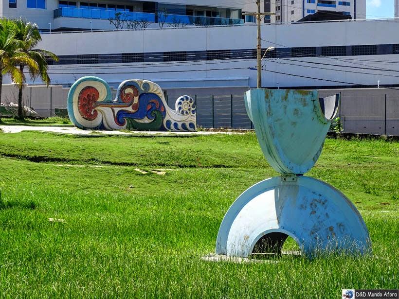 O que fazer em Salvador (Bahia) - Espaço Mario Cravo - Parque das Esculturas