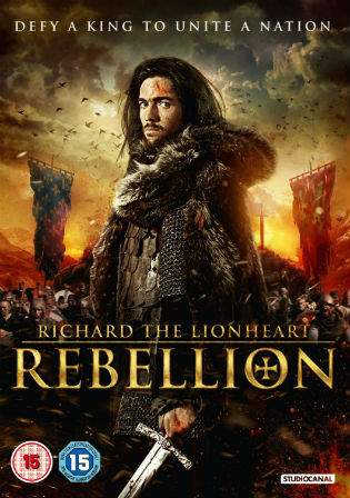 Richard The Lionheart Rebellion 2015 BRRip Hindi 300MB Dual Audio 480p Watch Online Full Movie Download bolly4u