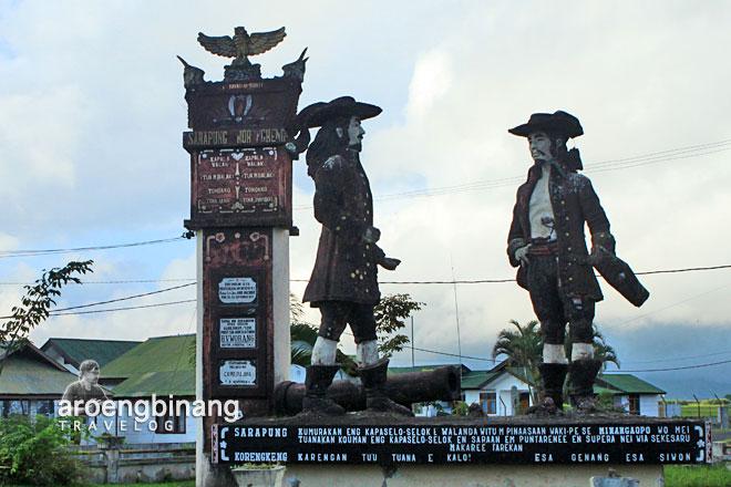 tameng patung sarapung korengkeng tondano minahasa sulawesi utara