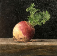 vegetable still life, oil painting