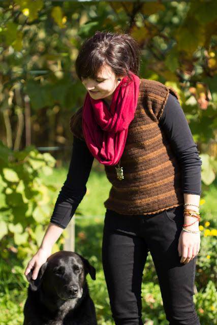 DIY - Gehäkelter Pullover mit Streifenmuster - do it yourself - Kleidung selber häkeln - gehäkeltes Oberteil