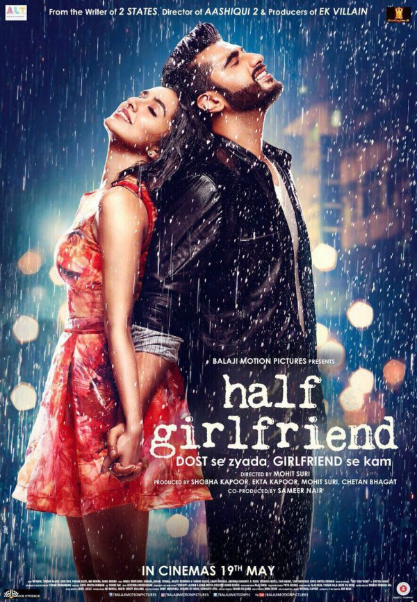 full cast and crew of bollywood movie Half Girlfriend 2017 wiki, Shraddha Kapoor, Arjun Kapoor story, release date, Actress name poster, trailer, Photos, Wallapper