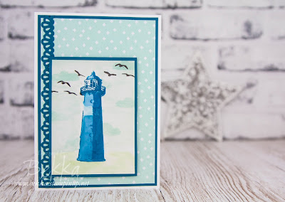 Summer Lighthouse Card for Any Occasion Featuring Products from Stampin' Up! UK which you can buy here.