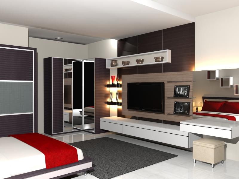 Surya Graha Interior Design Bed Set Minimalis