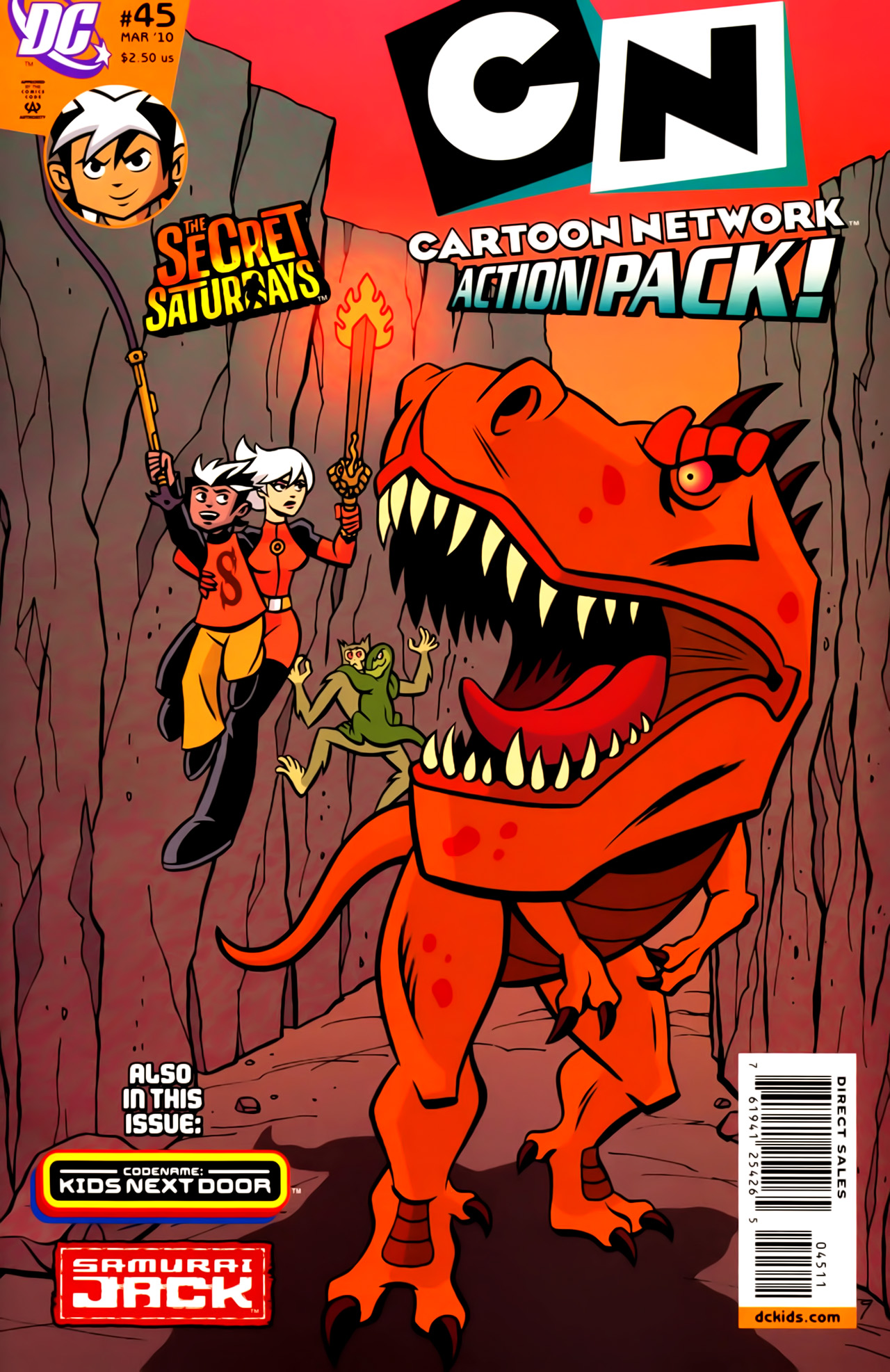 Cartoon Network Action Pack 45 Page 1