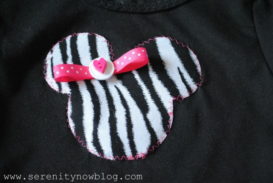 Serenity Now Diy Minnie Mouse Silhouette T Shirt Tutorial