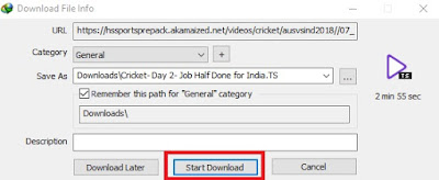 How to download hotstar videos via IDM
