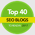 Top 40 SEO Blogs to Read in 2017