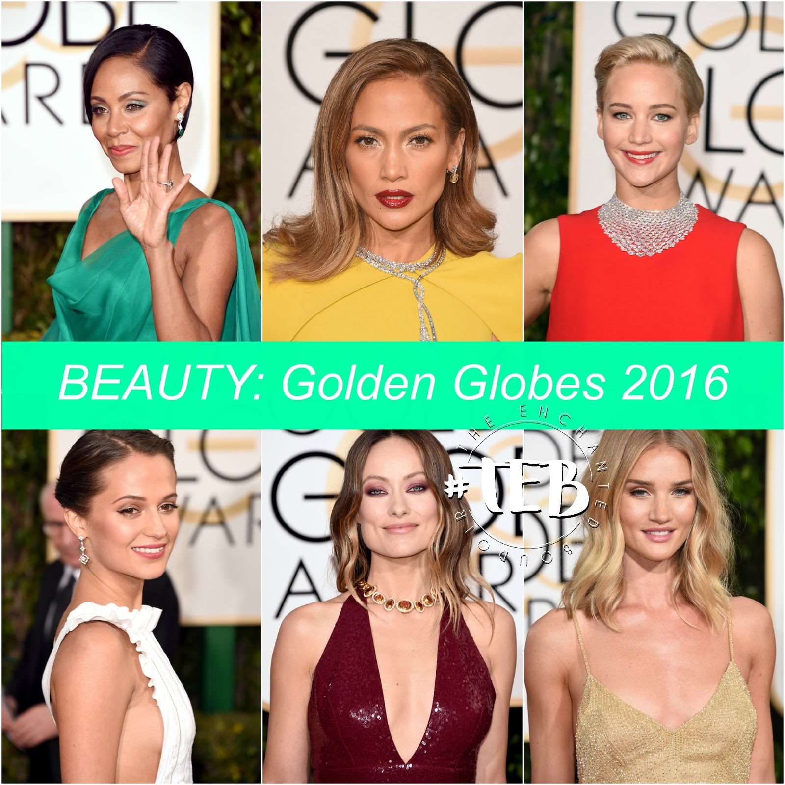 BEAUTY: THE BEST LOOKS FROM THE GOLDEN GLOBES