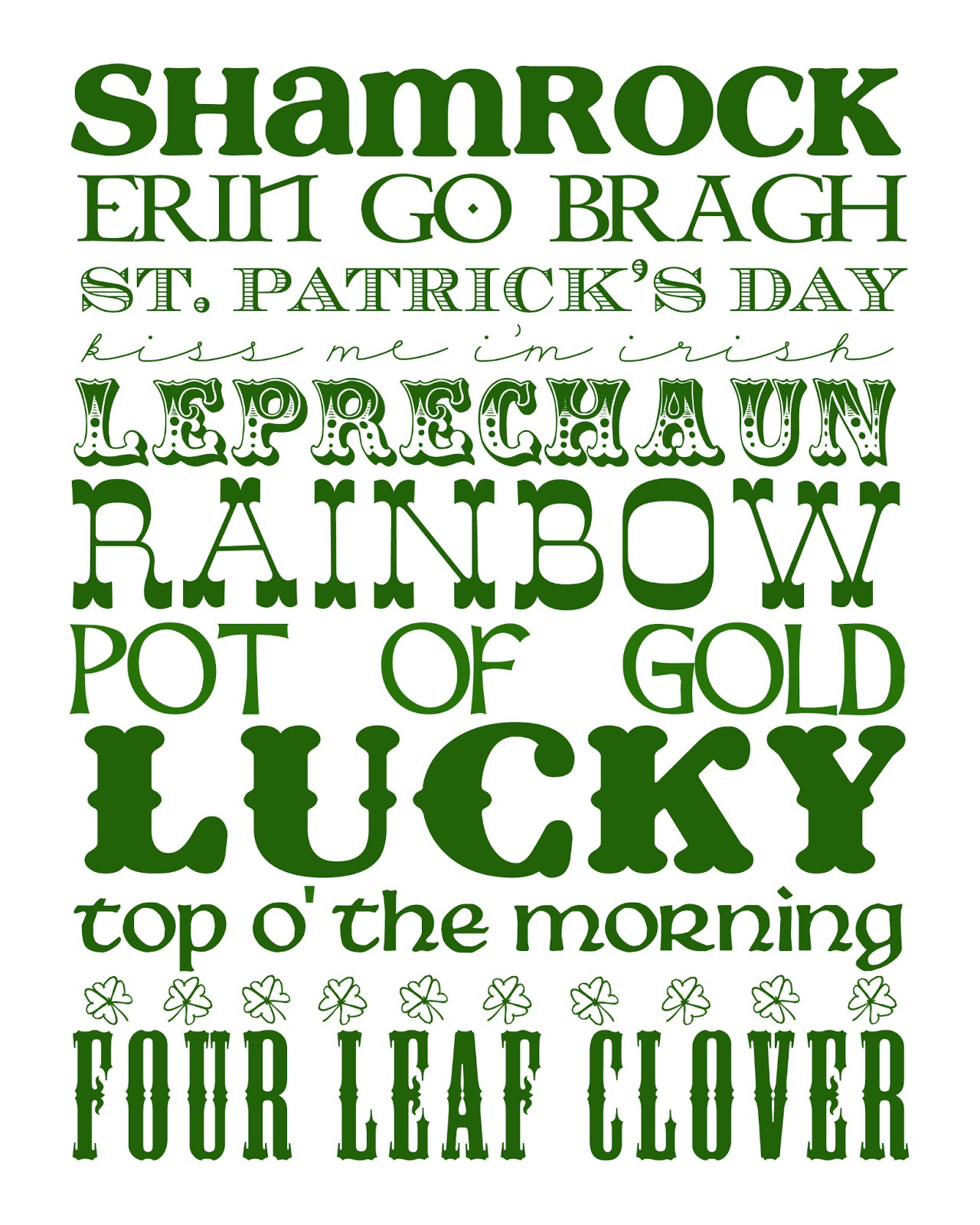 Life Inside Nickie S Little Bubble St Patrick S Day Roundup