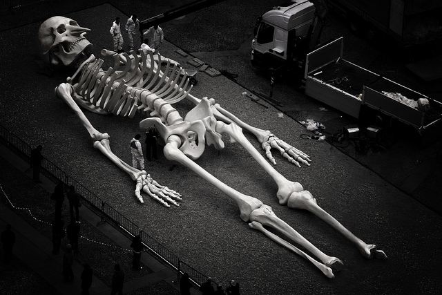 Giant Human Skeleton Hoax that shows little more than a knowledge of ...