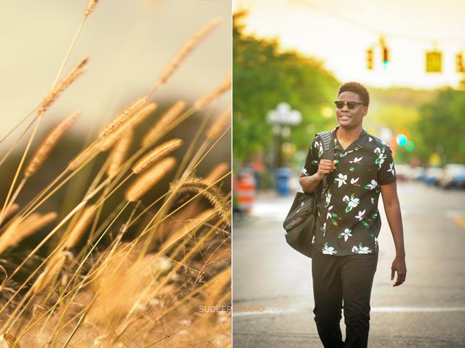 Natural looking Senior Picture - Sudeep Studio Ann Arbor Senior Pictures Photographer
