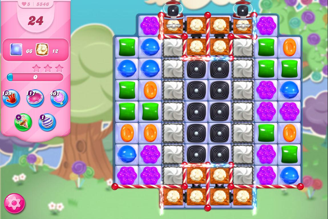 Candy Crush Saga level 5546