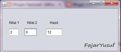 Latihan05 (Membuat Jframe Form dan Objek Swing)