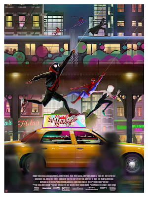 Spider-Man: Into the Spider-Verse Giclee Print by Andy Fairhurst x Grey Matter Art x Marvel