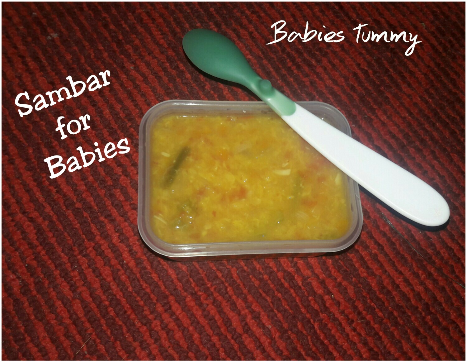 Babies healthy food babies tummy sambar recipe for babies sambar is made with dal vegetables very healthy for babies toddlers and its very yummy as welldal is power house of nutritions helps to forumfinder Gallery