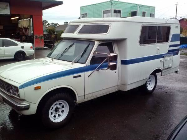 used rvs restored 1975 toyota chinook rv for sale by owner. Black Bedroom Furniture Sets. Home Design Ideas
