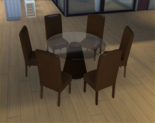 Example Design kitchen table and 3 chairs