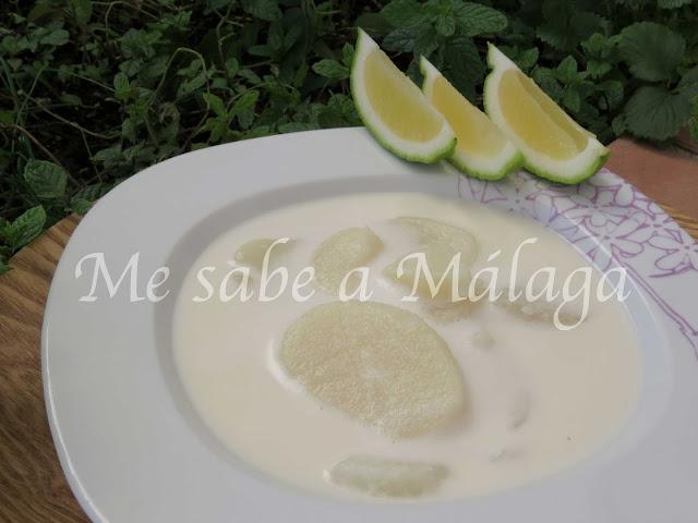 receta de gazpachuelo malagueño de bacalao