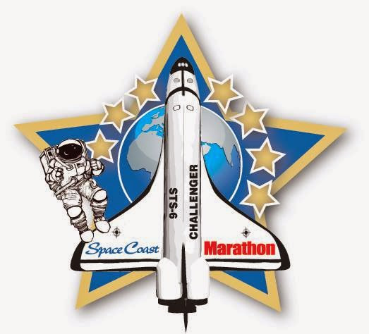 Space Coast Marathon 2014...