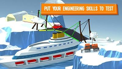 terbaru yang populer di google play dengan genre game puzzle yaitu  Build a Bridge! Mod Apk 2.0.12 (Free Shopping)