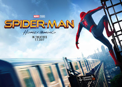 Banner promocional de Spider-Man: Homecoming