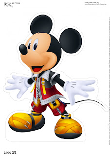Mickey Mouse: Free Printable Centerpieces.