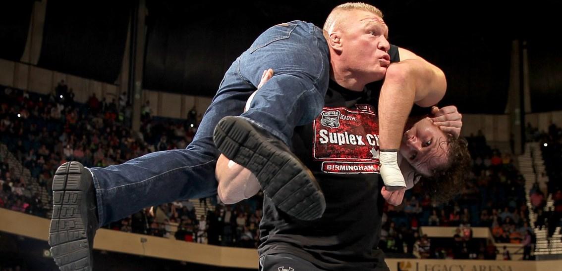 Dean Ambrose vs Brock Lesnar Wrestlemania 32 live streaming