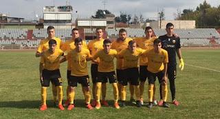 Ισόπαλες 2-2 αναδείχθηκαν οι ομάδες Κ20 της ΑΕΛ και της ΑΕΚ στο Αλκαζάρ