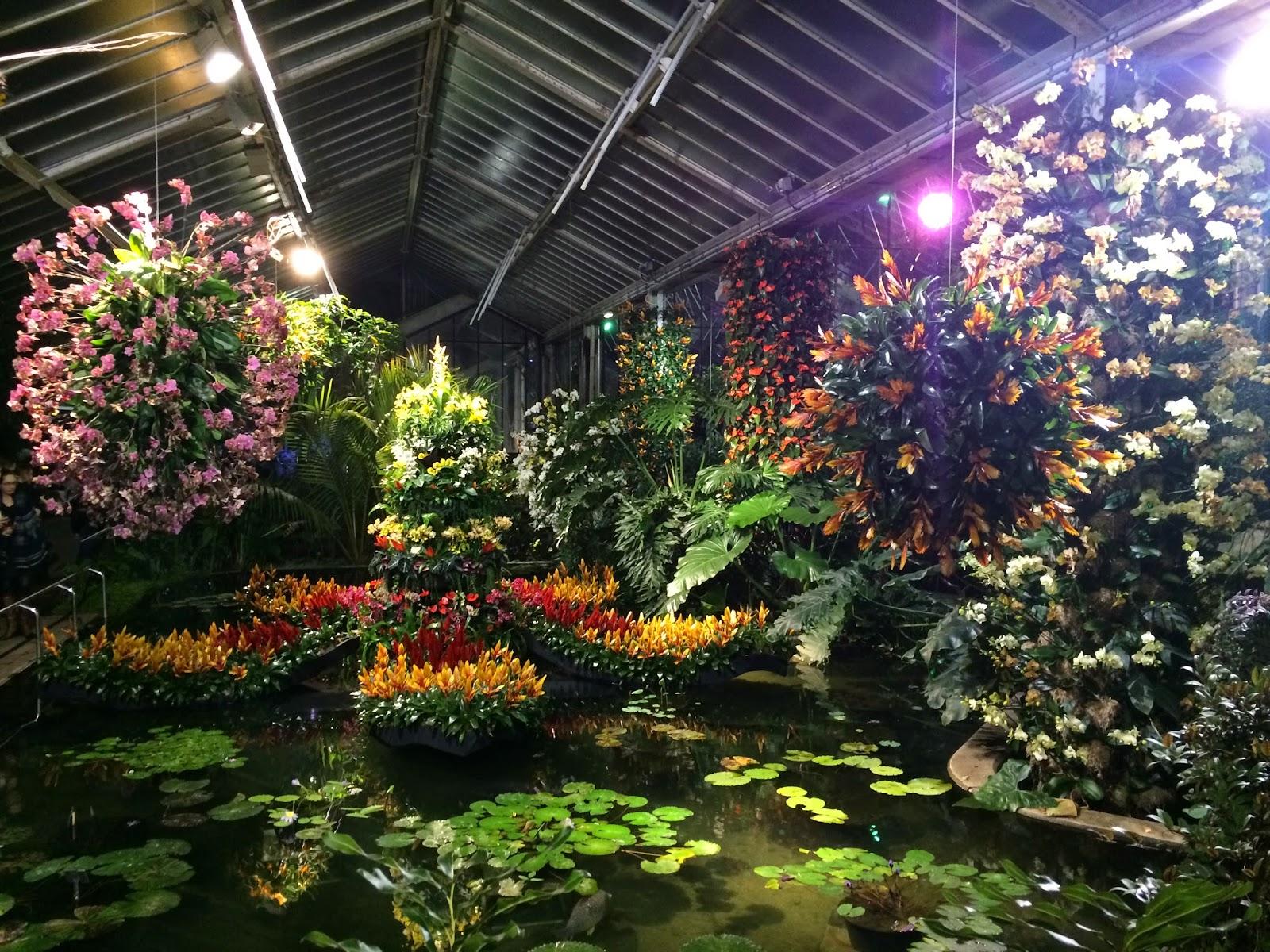 Kew Gardens Night - Garden Ftempo