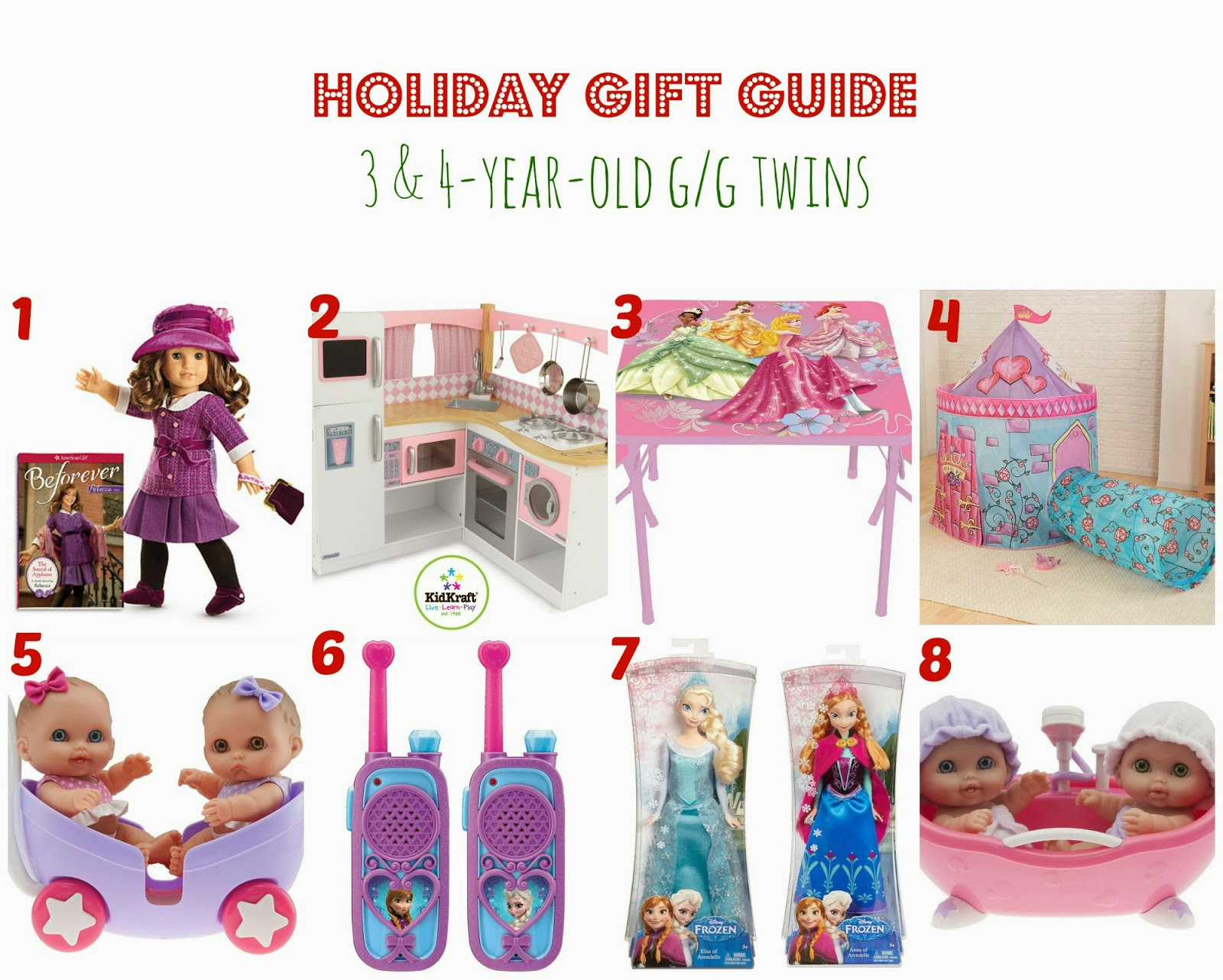 Twin Talk Blog Holiday Gift Guide 3 4 Year Old Twins