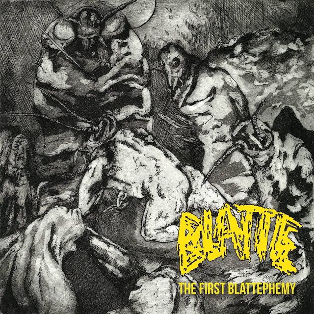 Blatte the first blattesphemy grindcore france