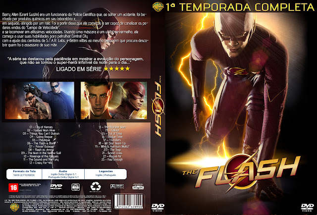 Capa The Flash 1ª Temporada Completa