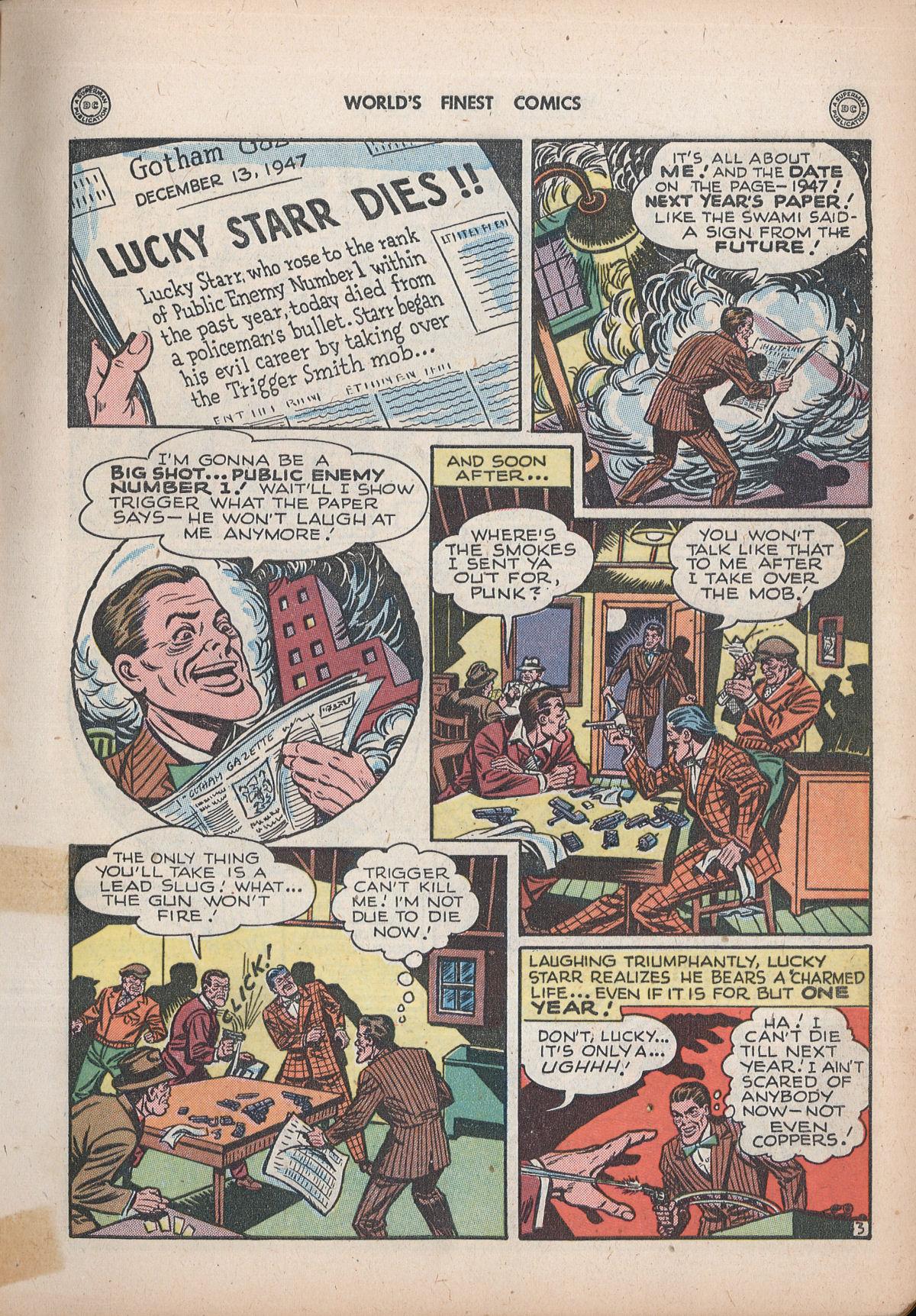 Read online World's Finest Comics comic -  Issue #32 - 5