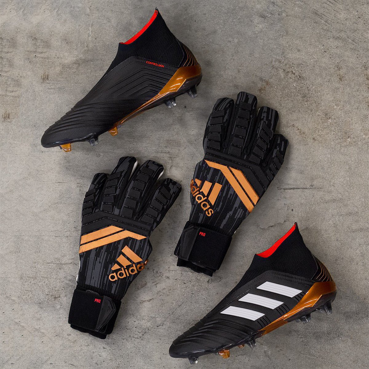 Cheap All-New Adidas Predator 18 Fingersave Pro Goalkeeper ...