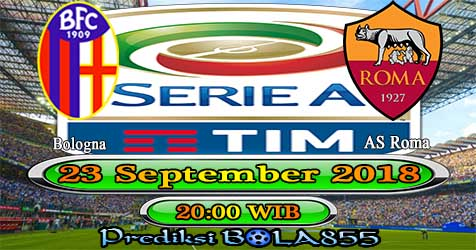 Prediksi Bola855 Bologna vs AS Roma 23 September 2018
