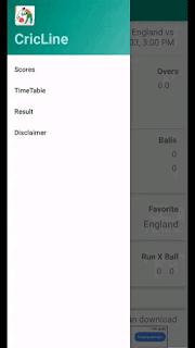 CricLine - Live Scores - screenshot 2