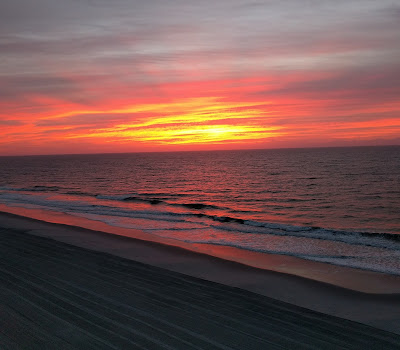 South Carolina beach sunrise