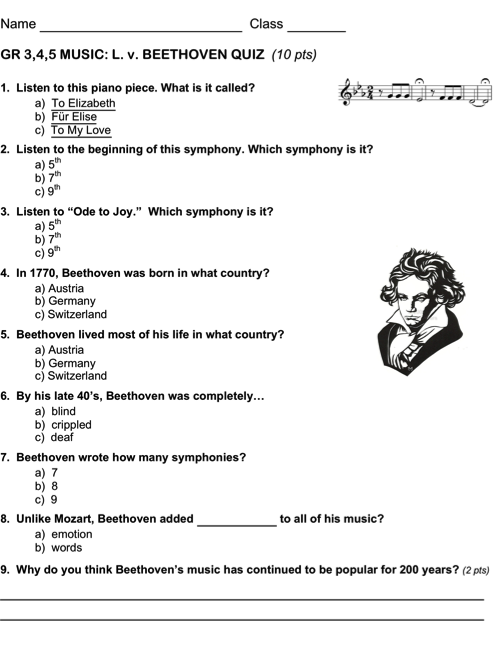 Printables Beethoven Lives Upstairs Worksheet Kigose