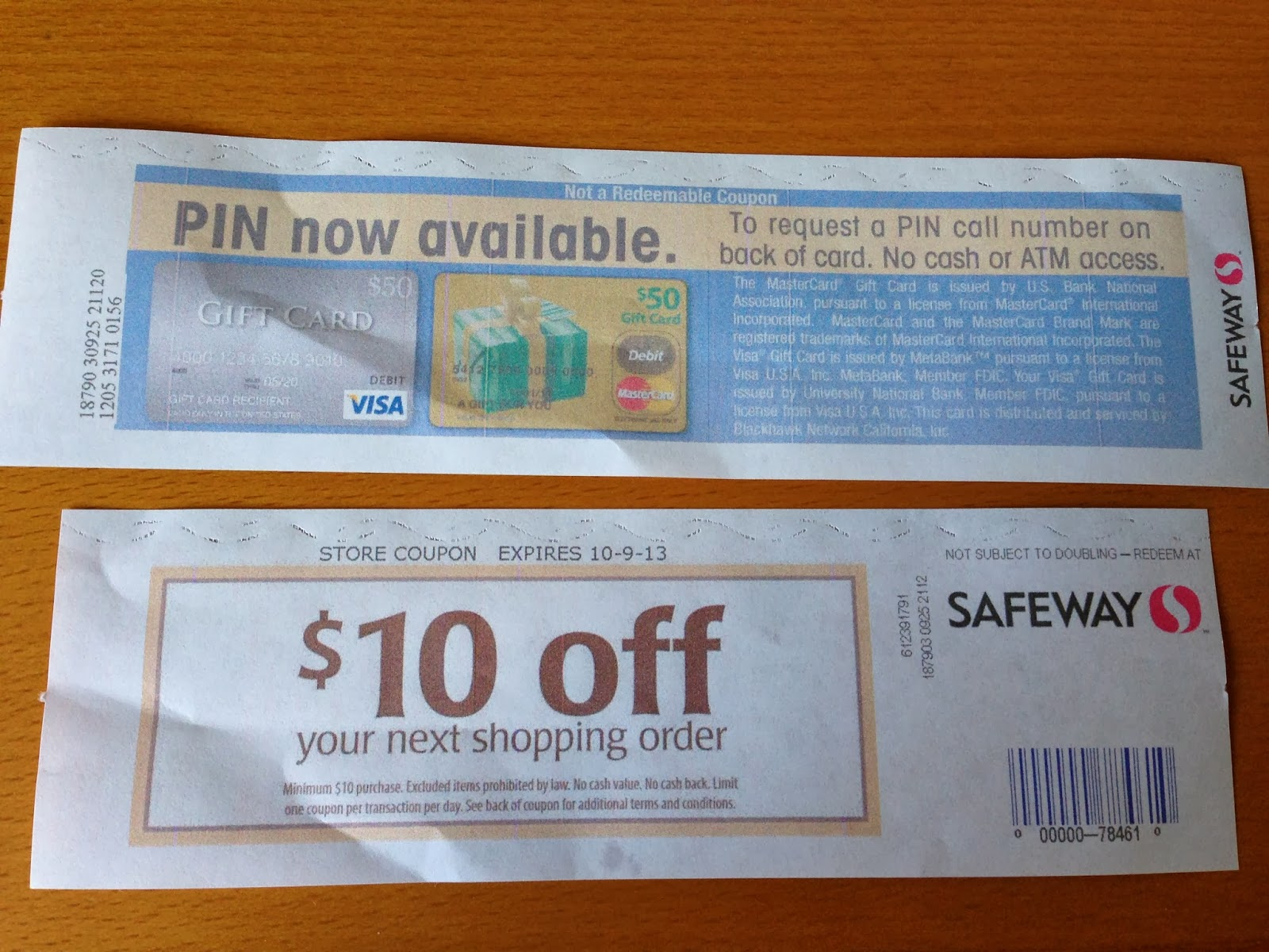 mastercard gift card pin green espirit mastercard gift card rebate safeway 10 976