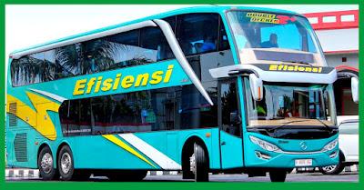 Bus Tingkat Efisiensi: Bus Super Double Decker Efisiensi Asal Kebumen