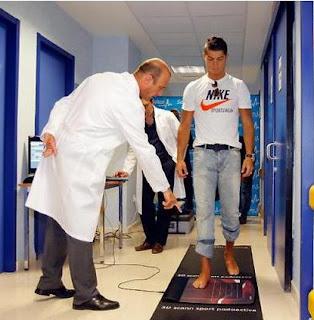 Cristiano Ronaldo recuperacion medico